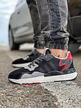 Кросівки чоловічі 17302, Adidas 3M, чорні, [ 41 42 43 44 45 46 ] р. 41-25,2 див., фото 3