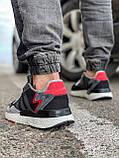 Кросівки чоловічі 17302, Adidas 3M, чорні, [ 41 42 43 44 45 46 ] р. 41-25,2 див., фото 4