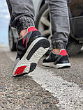 Кросівки чоловічі 17302, Adidas 3M, чорні, [ 41 42 43 44 45 46 ] р. 41-25,2 див., фото 5