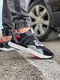Кросівки чоловічі 17302, Adidas 3M, чорні, [ 41 42 43 44 45 46 ] р. 41-25,2 див., фото 6