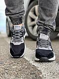 Кросівки чоловічі 17302, Adidas 3M, чорні, [ 41 42 43 44 45 46 ] р. 41-25,2 див., фото 7