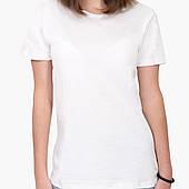 Футболка женская Без принта (No print) Белый (8976-1094)