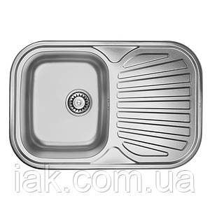 Кухонна мийка ULA 7707 U Satin (ULA7707SAT08)