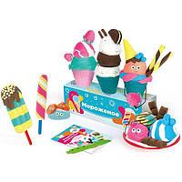 """Набор для детской лепки из легкого пластилину """"Кафе Мороженое"""" арт.TA1716"""