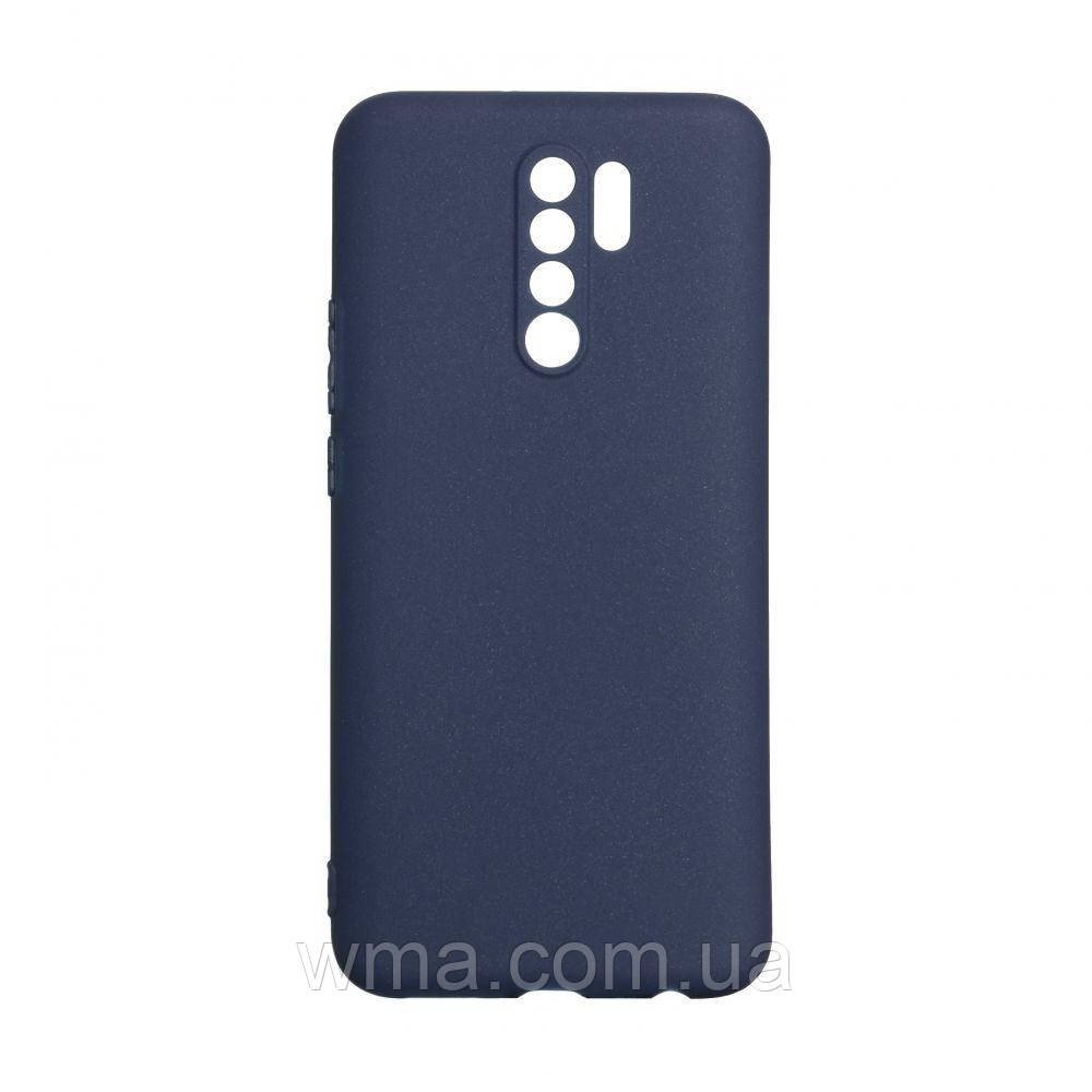 Чехол SMTT Xiaomi Redmi 9 Цвет Синий