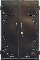 Двополі металеві вхідні двері