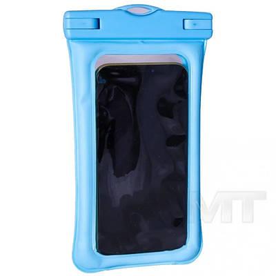 Чохол для смартфонів водонепроникний good Light Прозорий Блакитний