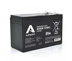 Аккумулятор 12 V  9 Ah  AGM GP1290F2 ( 150 x 65 x  95 (100)  White Q10