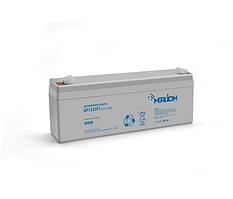 Аккумулятор 12 V  2.3Ah AGM GP1223F1   ( 178 x 35 x 60 (65) ) Q10 MERLION