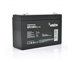 Аккумулятор   6 V 12Ah   AGM GP612F2  ( 150 x 50 x 95 (100) ) Q1 MERLION