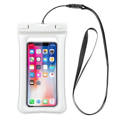 Чохол для смартфонів водонепроникний good Light Прозорий Білий