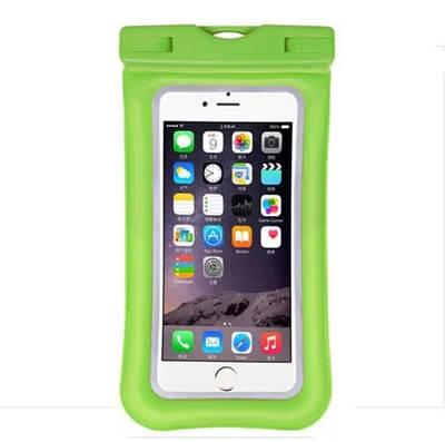 Чохол для смартфонів водонепроникний good Light Зелений Прозорий