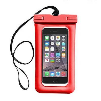 Чехол для смартфонов водонепроницаемый good Light Прозрачный Красный