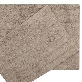 Набір килимків Shalla - Dax kahve кави 40*60+50*80