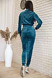 Спорт костюм жіночий 119R279 Смарагдовий колір, фото 3