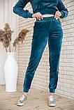 Спорт костюм жіночий 119R279 Смарагдовий колір, фото 5