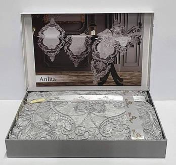 Дорожка Set Велюр Maison Royale Anlita Grey