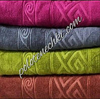 Банное полотенце микрофибра Ромб с волной (8), фото 1