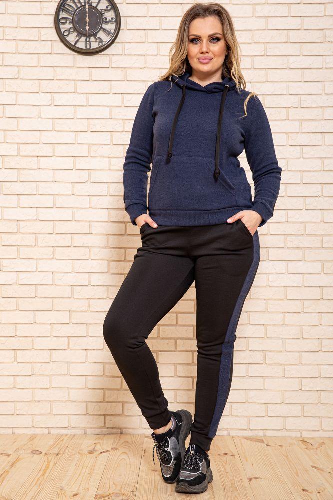 Спорт костюм жіночий 119R245 колір Темно-синій M
