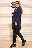 Спорт костюм жіночий 119R245 колір Темно-синій M, фото 2