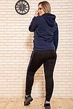 Спорт костюм жіночий 119R245 колір Темно-синій M, фото 3