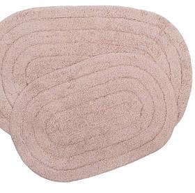 Набір килимків Shalla - Edna gul рожевий 40*60+50*80