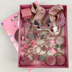 Аксессуары для волос Magic Princess темно розовый