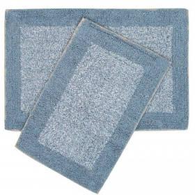 Набір килимків Shalla - Fabio mavi блакитний 40*60+50*80