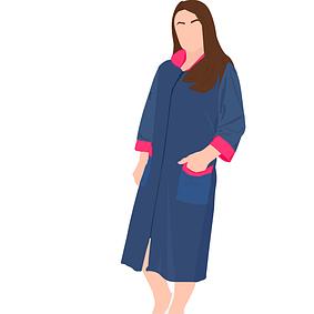 Халаты женские велюровые