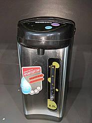 УЦЕНКА! Термопот электрический 6.8л Reomdno H12249, серебристый