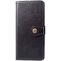 Кожаный чехол книжка GETMAN Gallant (PU) для Samsung Galaxy A51, Чехол для смартфона самсунг