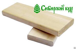 Брус лавочный кедровый, лежак для бани и сауны - Кедр Сибирский 20х70