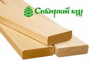Полок, Брус лавочный кедровый для бани и сауны - Кедр Сибирский 20х90