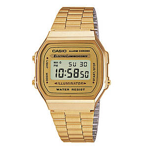 Годинники наручні класичні: Casio. Колір: золото