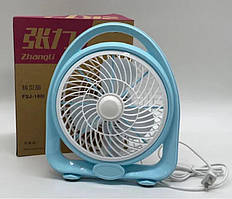 Настільний вентилятор FSJ-180I Блакитний