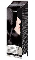 Крем-краска для волос C:color C:ehko 10 (Черный)