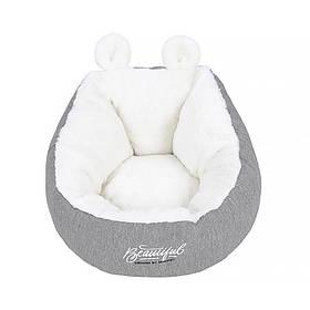 Лежак для домашних животных Hoopet HY-1800 размер M Серый  КОД: 5301-24362