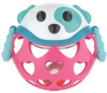 Погремушка игрушка интерактивная Canpol babies Собачка Розовая 79 101pin, КОД: 2425229