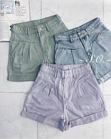 Женские стильные джинсовые короткие шорты, фото 1
