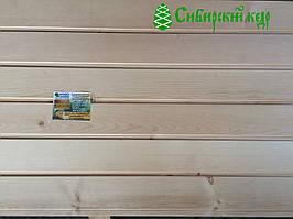Евровагонка для бани, сауны из Кедра Сибирского 14х90