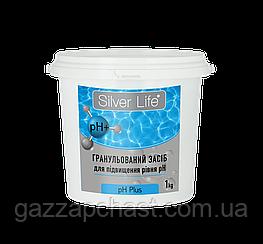 Средство для повышения уровня pH воды в бассейне Silver Life pH Plus (гранулы), 1 кг