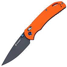 Нож складной Ganzo G7533 (длина: 210мм, лезвие: 89мм, сатин), оранжевый