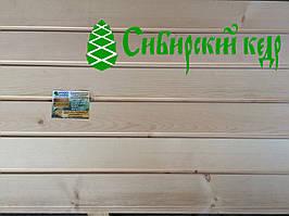 Вагонка Кедр Сибирский для бани, сауны, парилки