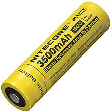 Літієвий акумулятор Li-Ion 18650 Nitecore NL1835 3.6 V (3500mAh), захищений