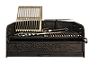 Барбекю - чугунная вставка - шириной 1000 мм