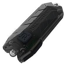 Ліхтар наключный ультрафіолетовий Nitecore TUBE UV (500mW UV-LED , 365nm, 1 режим, USB, чорний