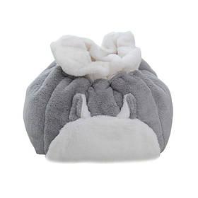 Лежак для домашних животных Hoopet HY-1887 Серый  КОД: 6402-21984