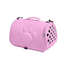 Сумка-переноска для кошек Hoopet 19G0173G Розовый  КОД: 6403-22001