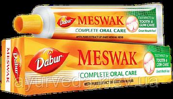 Зубная паста Мешвак, Мишвак, Meswak 100gm - отбеливание зубной эмали, укрепление зубов и десен, кариес
