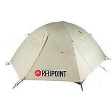 Палатка туристична тримісна Red Point Steady 3 (320х210х110см), сіра